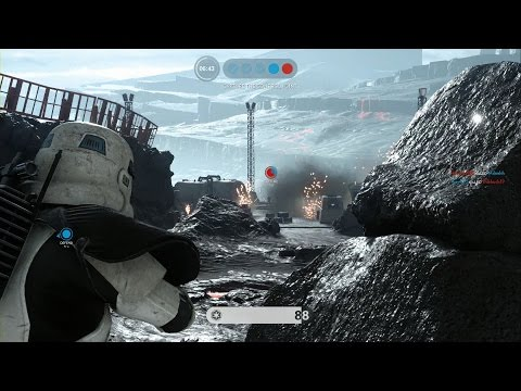 Star Wars Battlefront - First Online Match - Supremacy Mode PS4 (No Commentary) thumbnail