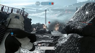 Star Wars Battlefront - First Online Match - Supremacy Mode PS4 (No Commentary)