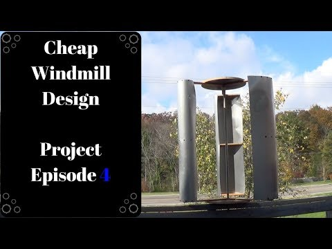 how to build your own vertical axis wind turbine