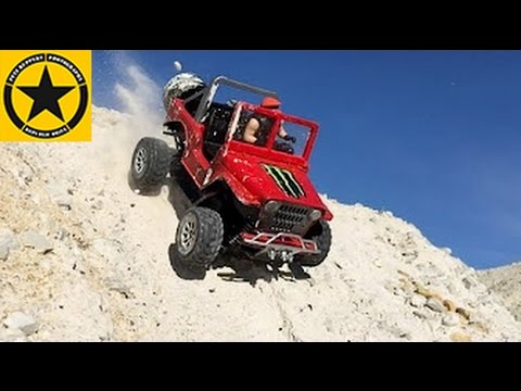 bruder rc conversion jeep 1000hp outdoor test motorstorm. Black Bedroom Furniture Sets. Home Design Ideas