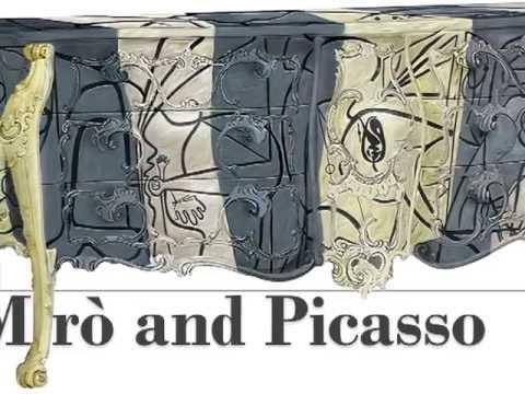 Vazzari presents Simbiosi Design: baroque furniture clad in works of art