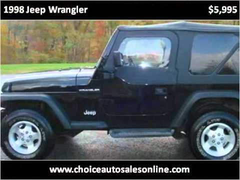 1998 Jeep Wrangler Used Cars Murrysville PA