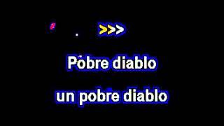 KARAOKE TV Julio Iglesias   Pobre Diablo sin voz  no voice)