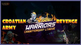 Warriors Championship League S1 | Croatian Army VS Revenge | Heavy Weight | War Recap