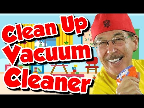 Clean Up Vacuum Cleaner | Clean Up Song for Kids | Jack Hartmann