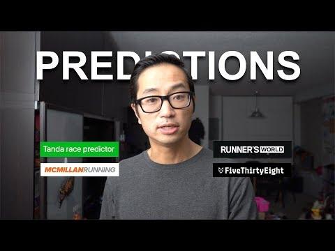 Race Predictor Comparison 2019 Chicago Marathon