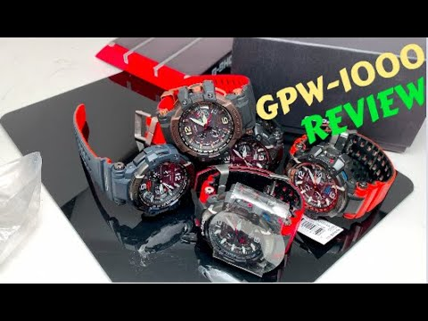 CASIO G-Shock GPW-1000 Review, Features, Functions - Designs
