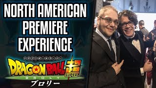 Dragon Ball Super Broly English Dub Premier: MY EXPERIENCE