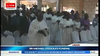 Sir Micheal Otedola's Funeral Part1