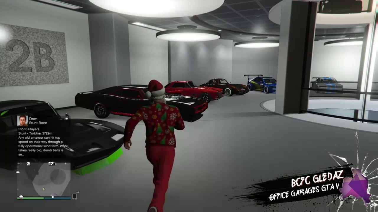 Grand Theft Auto V New Office Garages Custom Auto Shop Youtube