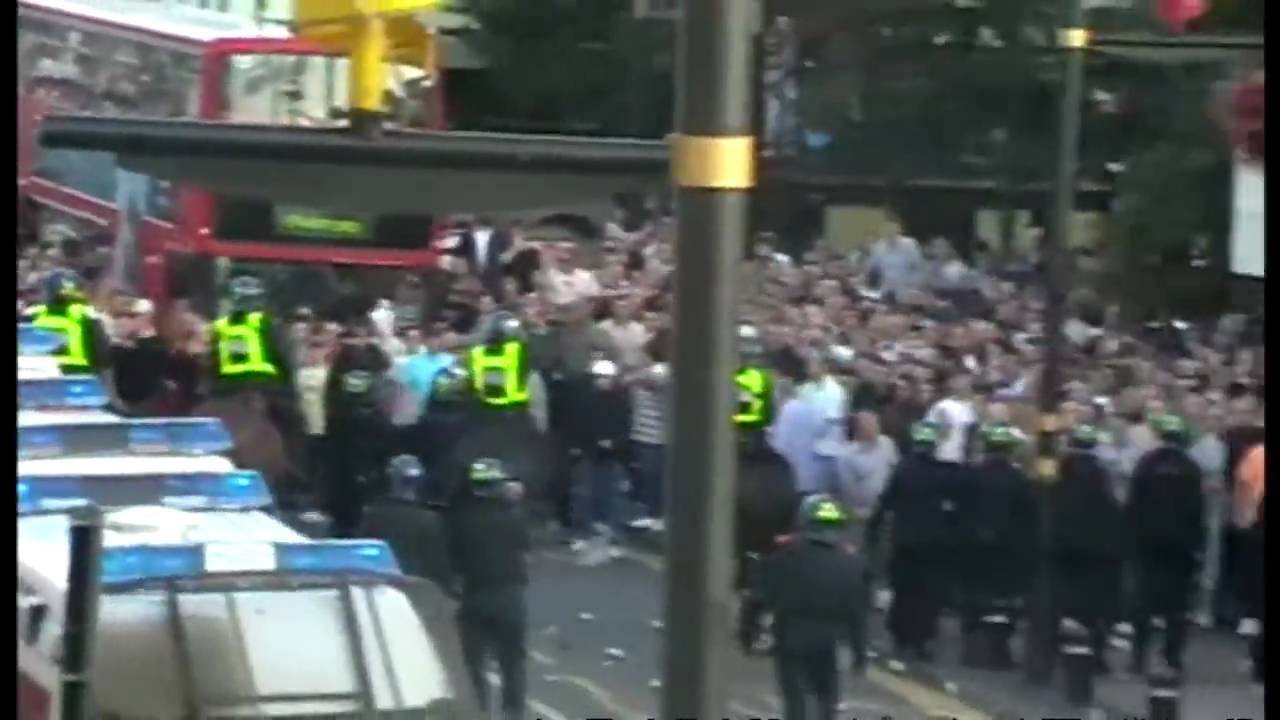 West Ham vs Millwall: Hooligan Riots outside Upton Park