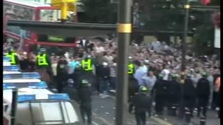 West Ham vs Millwall: Hooligan Riots outside Upton Park