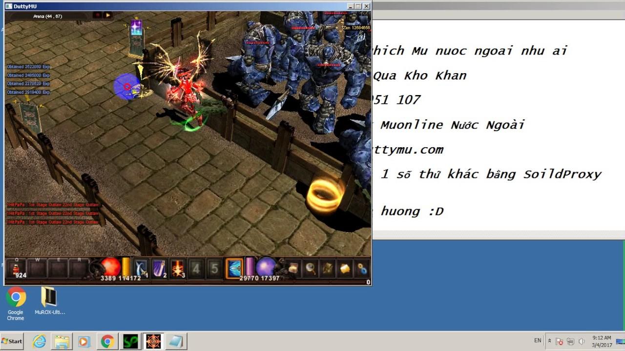 Hack 1 hit kill mu online