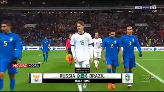Rusya 0-3 Brezilya NEUSTADER & TALİSCA HD MAÇ ÖZETİ