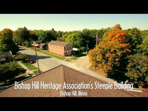Bishop Hill IL Historical Association Steeple Building