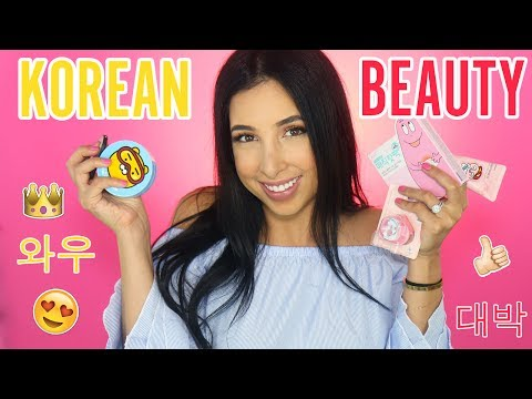 Trying Out KOREAN BEAUTY Products | Mar