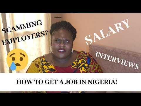 Life In Lagos: How To Get a Job In Nigeria
