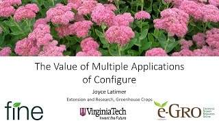 The Value of Multiple Applications of Configure