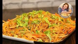 Китайская картошка или картофель по китайски. Вкуснейший рецепт.