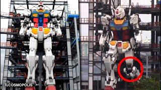 Esto está PASANDO en JAPÓN, El ROBOT más GRANDE del MUNDO DA sus PRIMEROS PASOS