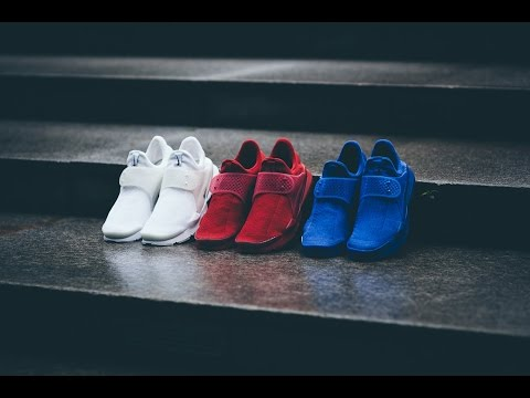 unboxing-nike-sock-darts-independence-day-red-&-blue