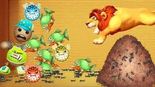 ŚMIESZNE ZWIERZĘTA!   Kick The Buddy (All Animals WEAPONS) #2