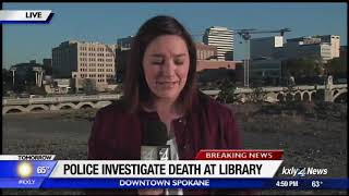 Window washer dies after falling from Spokane Public Library