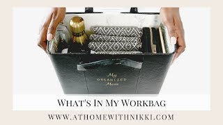 WHAT'S IN MY BAG | ORGANIZER'S BAG