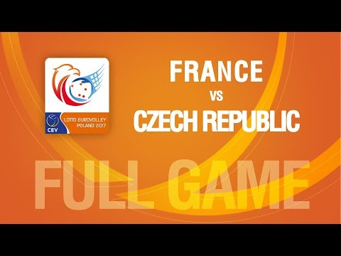France vs Czech Republic | PLAYOFF | LOTTO EUROVOLLEY POLAND 2017