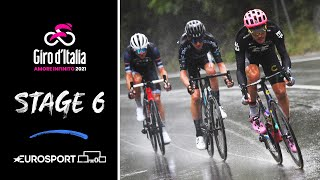 Giro d'Italia 2021 - Stage 6 Highlights | Cycling | Eurosport