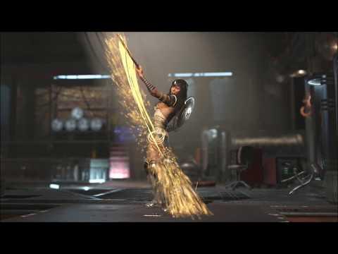 Injustice 2 Equip Wonder Woman Epic Low Cut Ceremonial Amazon Warrior