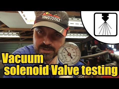 #1213 - Vacuum Solenoid Valve testing