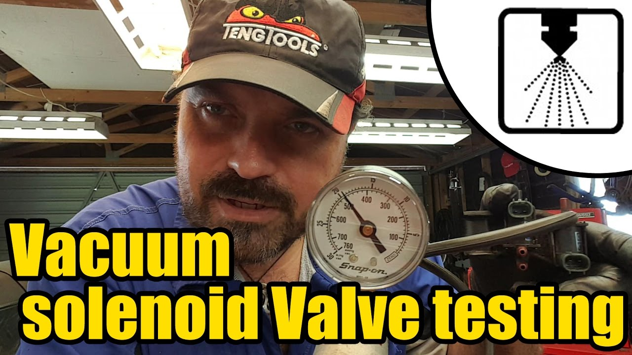 Vacuum Solenoid Valve Testing 1213 Youtube Gm Fuse Box Disassembly