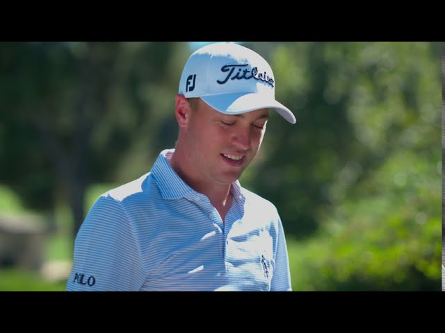 A Surprise for Justin Thomas I Scotty Cameron Putters