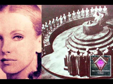 Maria Orsic - A Woman Can Communicate with Aliens - Secret of Vril Society | Hidden Truth #1