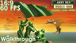 Army Men: World War - Land, Sea, Air Widescreen Walkthrough