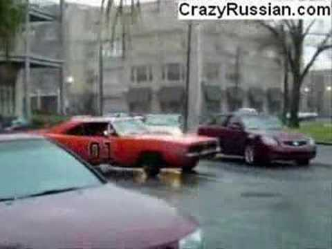 Muscle Car Drifting In Rush Hour Youtube