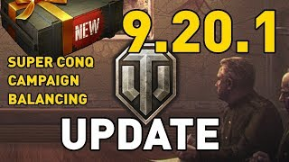 World of Tanks || Update 9.20.1 - Test Server Preview