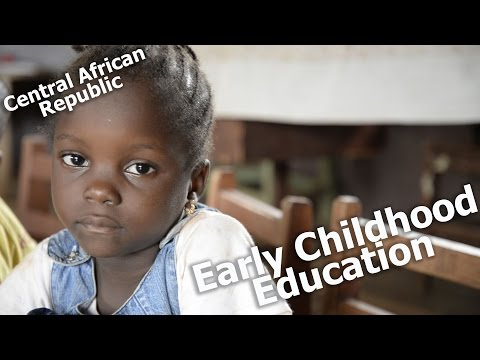 Early Childhood Education is laying the foundation for peace in the Central African Republic