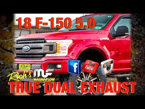 Ford F-150 5.0-Magnaflow True Dual Exhaust-By Rich's