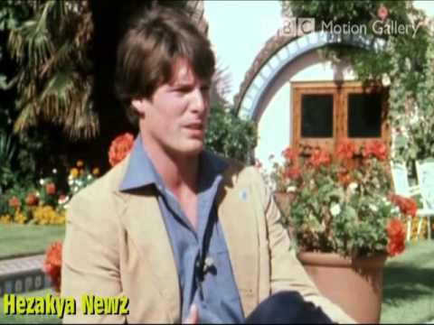 Christoper Reeve RARE BBC  In 1979 For the Filming Of