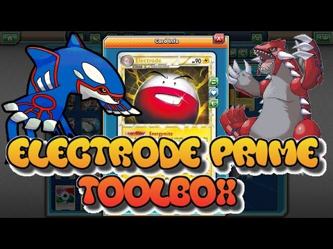 LEGACY Electrode Prime Toolbox Deck: Pokemon TCGO (PTCGO)