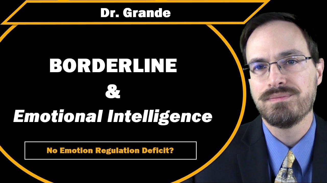 Borderline Personality Disorder and Emotional Intelligence