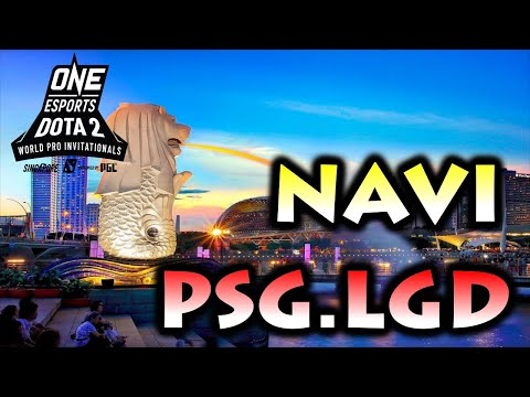 AMAZING GAME ! NAVI Vs PSG.LGD - ONE ESPORTS DOTA 2 WORLD PRO INVITATIONAL