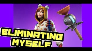 Eliminating Myself in FORTNITE | Multiple Fortnite gameplay on the PC | Death by Clinger in Fortnite