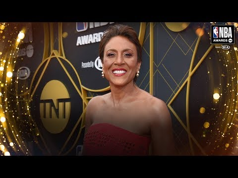 Robin Roberts honored for courage, leadership with Sager Strong Award at 2019 NBA Awards