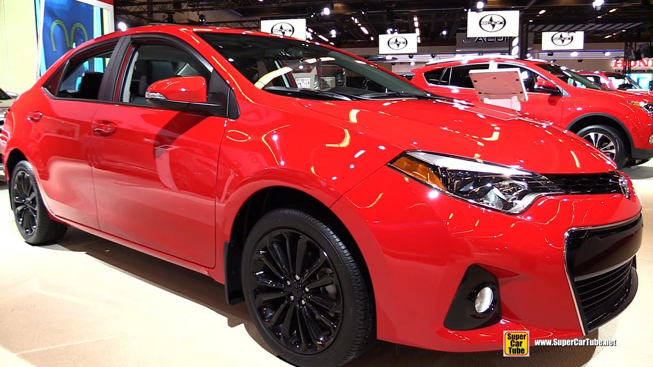 2015 Toyota Corolla S CVT - Exterior and Interior ...  2015 Toyota Cor...