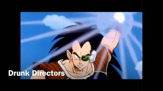 Raditz Vs Goku and Piccolo