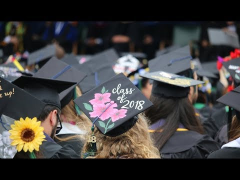 LIVE - 2018 COMMENCEMENT MAY 19th