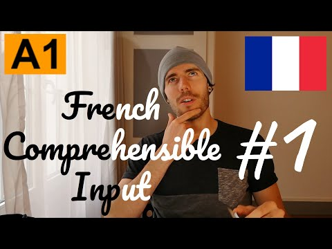 """Learn French Absolute Beginners 🇫🇷    A1#1 """"Introduction""""    (fr/en/pt/ru sub)"""